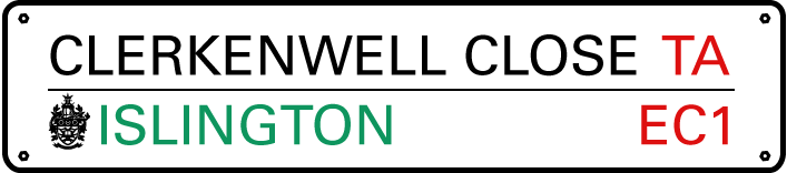 clerkenwell close TA logo